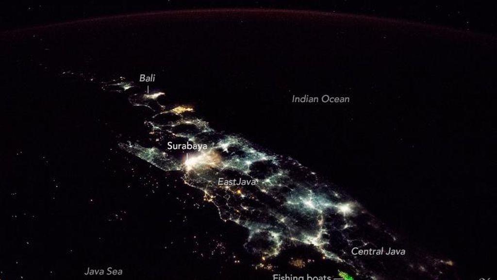 Satelit NASA Mata-matai Indonesia, Ini Gambarnya