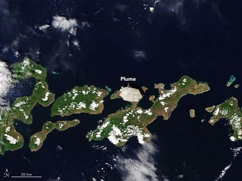 Foto satelit NASA Indonesia