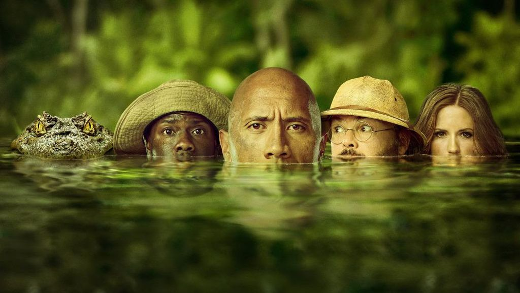 Sinopsis Jumanji: Welcome to the Jungle, Dibintangi Dwayne Johnson