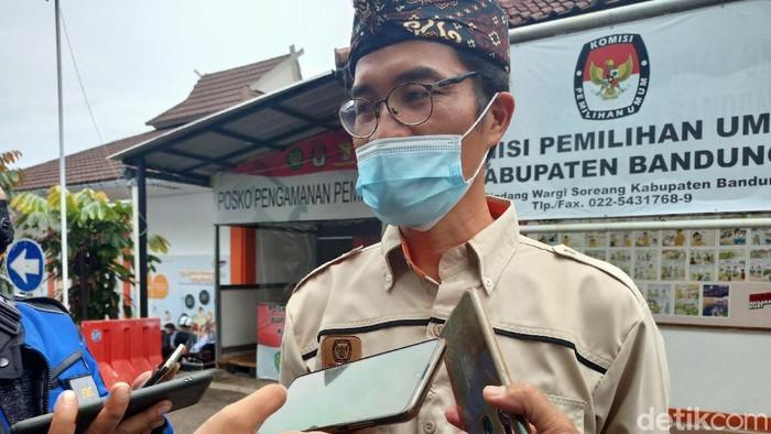 Ketua KPU Kabupaten Bandung Agus Baroya