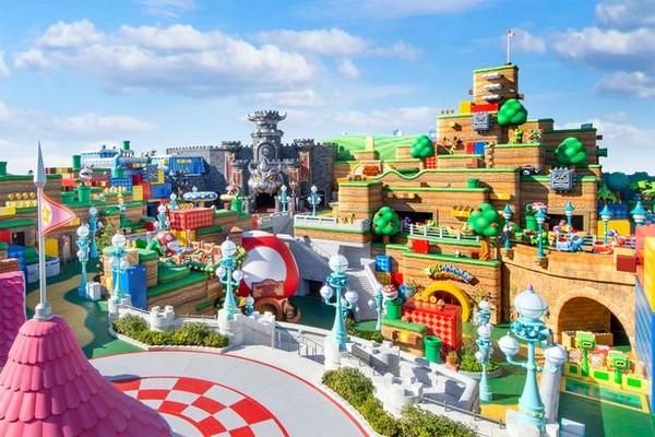 Universal Studio Jepang berencana untuk membuka area bermain Nintendo pada 4 Februari 2021.