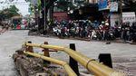 Ada Proyek Perbaikan Jalan, Ciledug Macet
