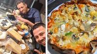 Rekor Dunia! Pizza dengan Topping Keju Terbanyak Pakai 257 Jenis Keju