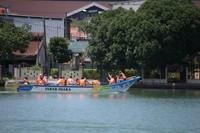 Dengan adanya perahu wisata ini, Gubernur Jawa Barat ini berharap kepada kewilayahan setempat dapat dimanfaatkan sebaik mungkin. (Humas Pemprov Jawa Barat)