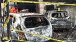 Kondisi Rumah Pejabat Dinkes Tulungagung yang Diduga Dibakar Orang