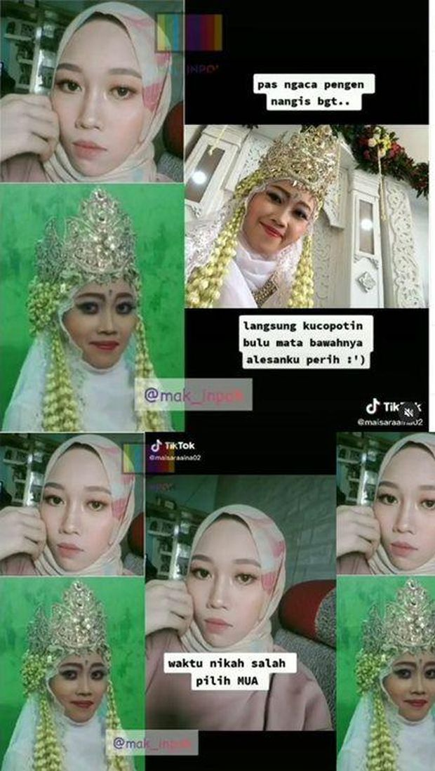 Salah pilih makeup artist