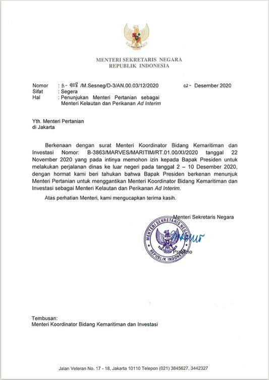 SK Menteri KKP