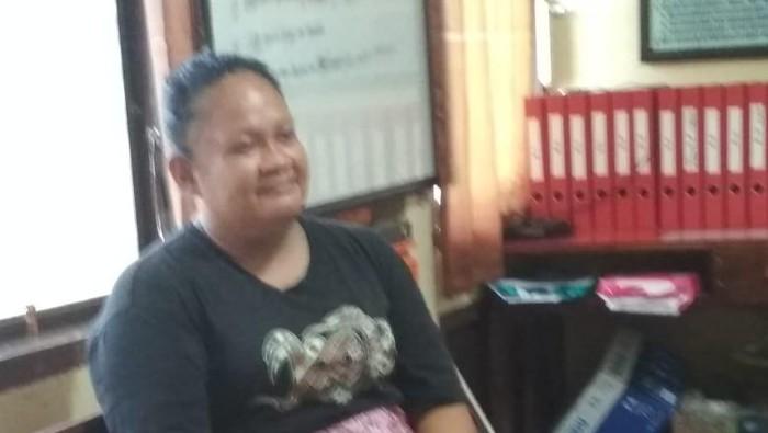 SM, janda di Sidrap Sulsel yang viral dikejar warga sekampung (dok. Istimewa).