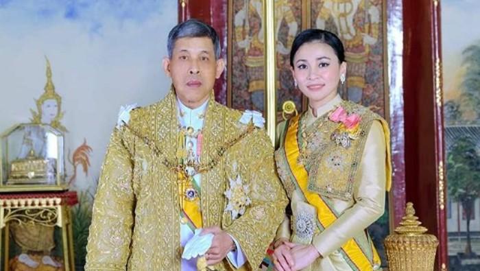 Suthida Tidjai, Istri Raja Thailand