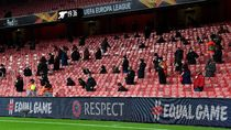 Dan Akhirnya, Suporter Terlihat Lagi di Emirates Stadium
