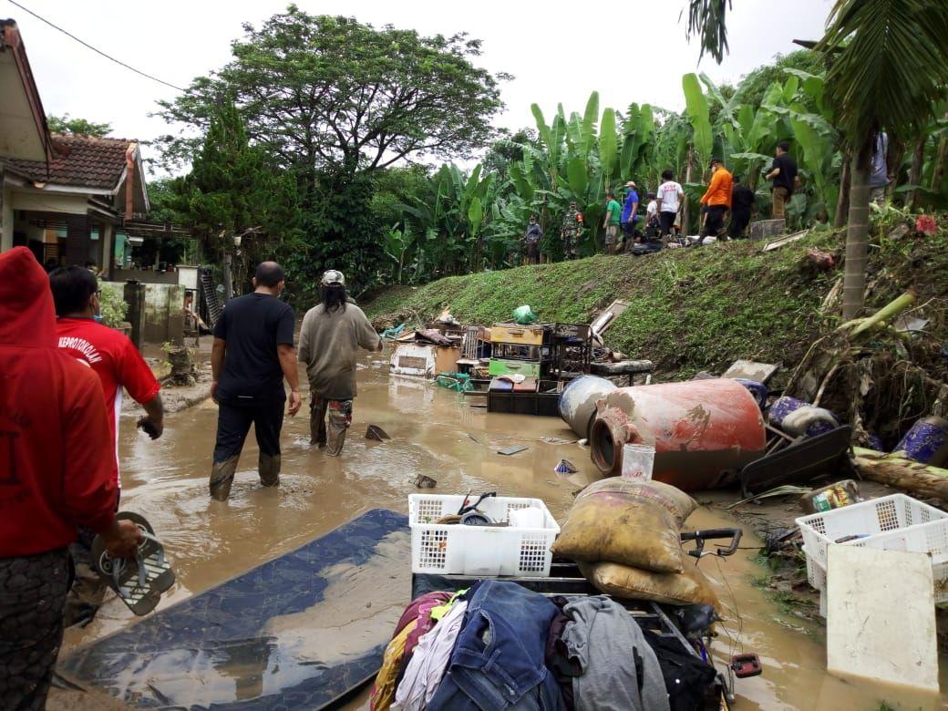 Dampak banjir di Medan (Datuk Haris-detikcom)