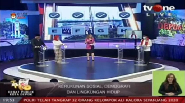 Debat Pilkada Depok