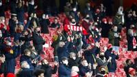 Fans Datang Lagi ke Emirates Stadium, Arsenal Langsung Pesta Gol