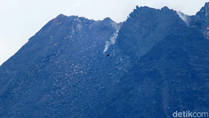 Status Gunung Merapi yang berada di perbatasan Jawa Tengah dan Daerah Istimewa Yogyakarta (DIY) dalam kondisi Siaga. Begini kondisi terkini Gunung Merapi.