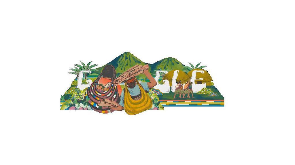 Noken Papua Tampil di Google Doodle