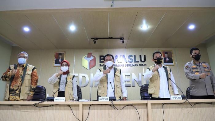 Kabareskrim Polri Komjen Listyo Sigit Prabowo hadiri Rakor Sentra Gakkumdu