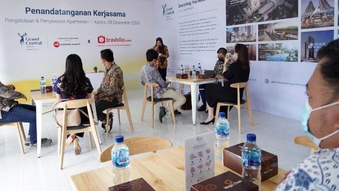 Travelio sebagai brand operator pengelola unit apartemen kini juga melebarkan sayapnya menjalin kerjasama dengan  Grand Central Bogor.