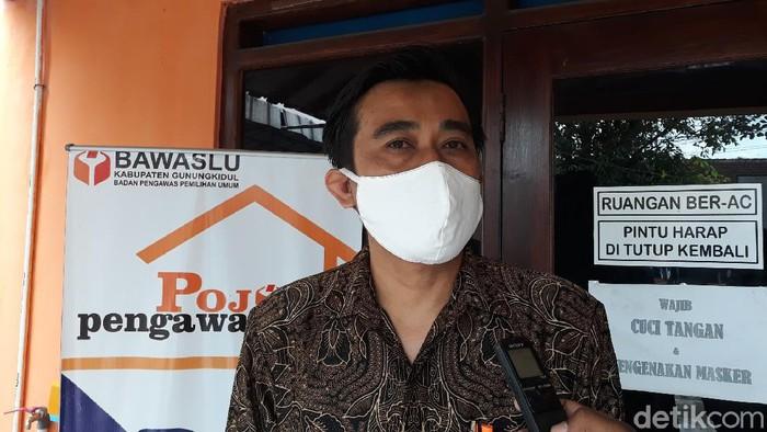 Ketua Bawaslu Kabupaten Gunungkidul Tri Asmiyanto