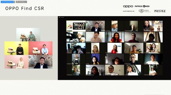 OPPO Find CSR telah mengumpulkan donasi sebesar Rp 740 juta dari lelang digital OPPO Find X2 bersama Jo Malone London pada Juli lalu dan koleksi furnitur Orbitale hari ini.