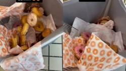 Viral Video Pegawai Dunkin Buang Donat yang Tak Laku Terjual