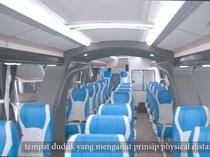 Harganya Rp 1,6 Miliar, Bus Social Distancing Bakal Layani Rute Jogja-Jakarta