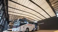 Potret Bus Social Distancing Baru Laksana, Bakal Dipakai PO Sumber Alam