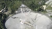 Detik-detik Robohnya Teleskop Raksasa Pencari Alien