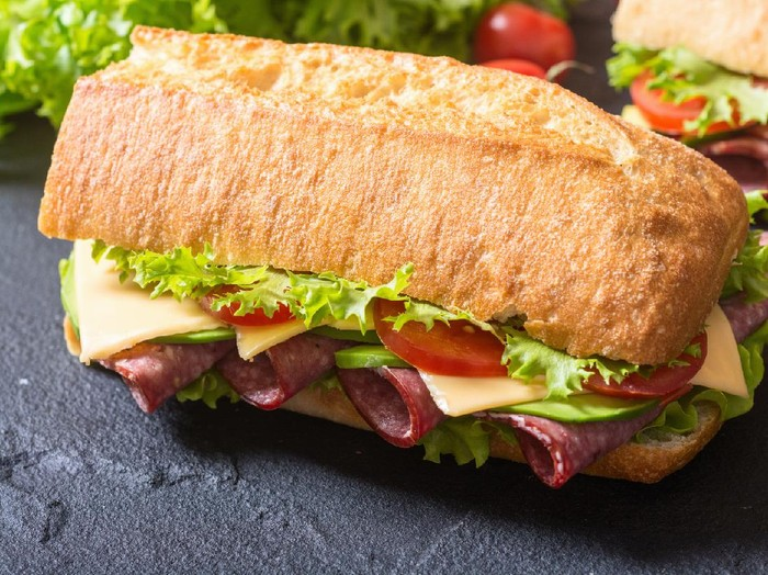 Resep Subway sandwich