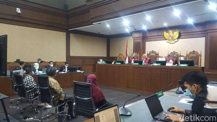 Sidang kasus Nurhadi di Pengadilan Tipikor Jakarta, Jumat (4/12/2020).