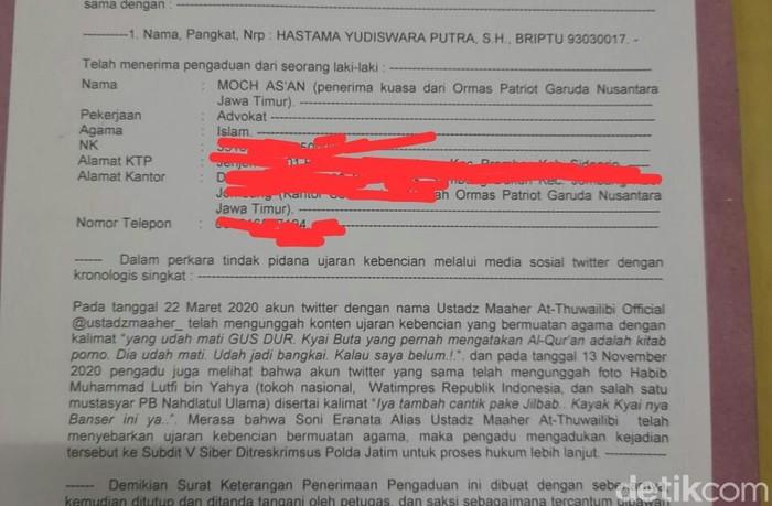 Ustadz Maaher Yang Ditangkap Dan Pernah Dilaporkan Hina Gus Dur Berujung Bui