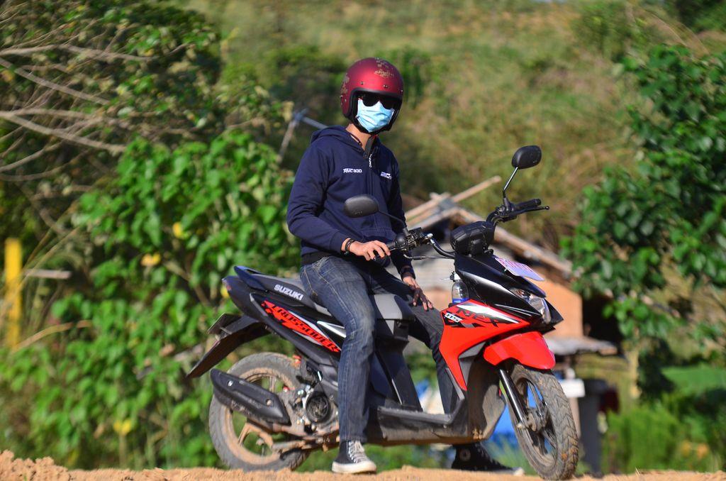 Test Ride Suzuki Nex Crossover