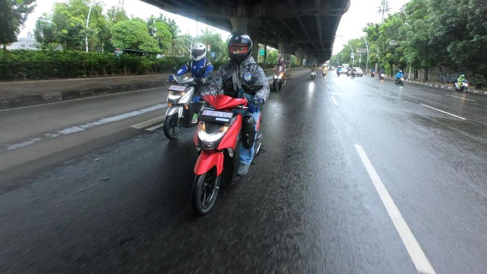 Test Ride Yamaha Gear 125