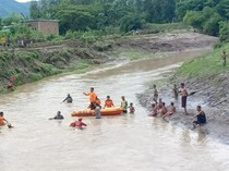 Wanita Paruh Baya Hanyut Saat Mandi di Sungai Dompu NTB Ditemukan Tewas