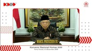 Buka Konvensi Nasional, Maruf Amin Minta Humas Adaptif Respon Krisis