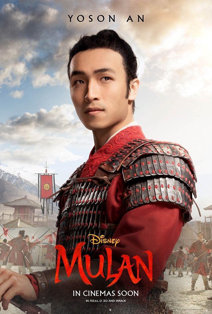 Yoson An sebagai Honghui dalam Mulan (2020)