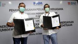 BNI dan PNM Kerja Sama Penyaluran Kredit UMKM untuk Pulihkan Ekonomi