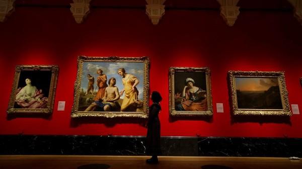Lukisan tersebut sebelumnya terpajang di State Rooms di Istana Buckingham.