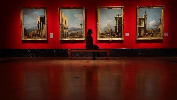 Kini lukisan-lukisan mahakarya koleksi Istana Buckingham dipajang di pameran yang bertajuk Masterpieces from Buckingham Palace.