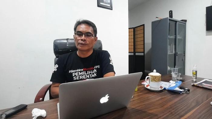 Ketua KPU Sulteng Tanwir Lamaming