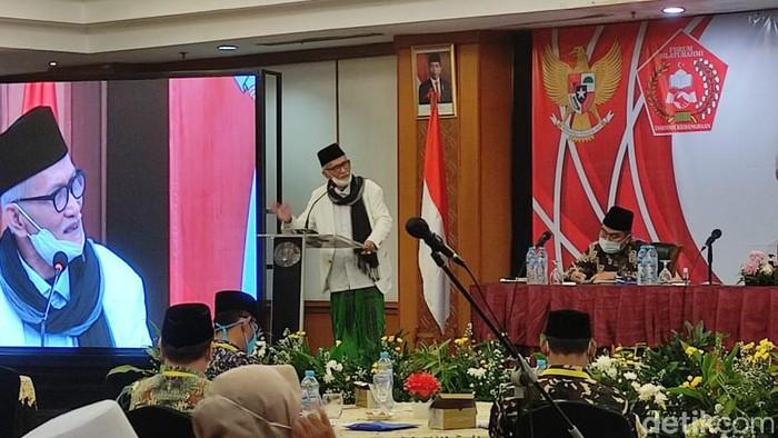 Ketua Umum Majelis Ulama Indonesia (MUI) Miftachul Akhyar