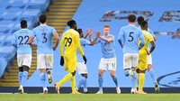 Babak I City Vs Fulham: The Citizens Unggul 2-0
