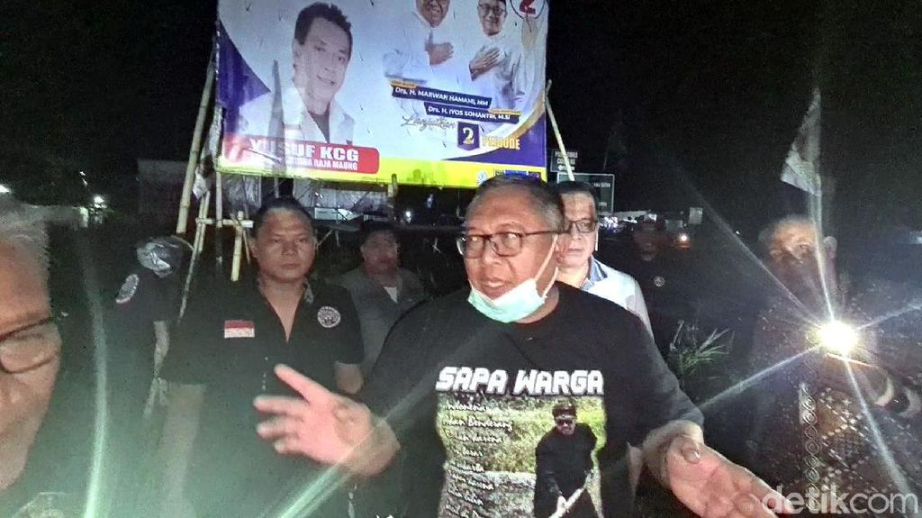 Jelang Masa Tenang, Marwan Hamami Minta Relawan Turunkan APK