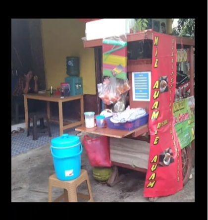 Mie Ayam Rp 5.000 Khusus untuk Ojol