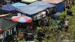 Semrawut PKL dan Kerumunan Tebet di Tengah Lonjakan Corona