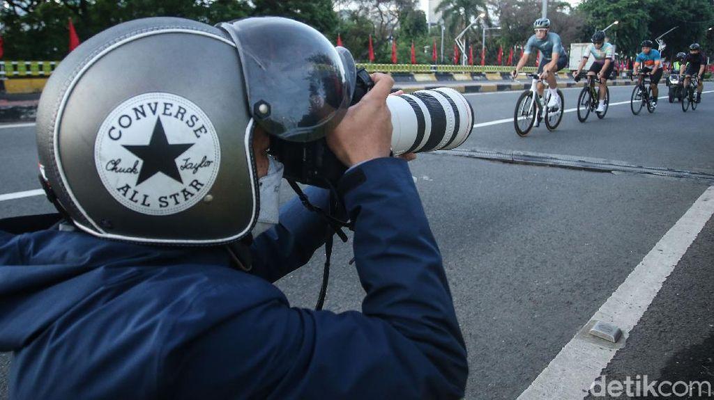 Makin Banyak Fotografer di Rute Gowes, Ruang Gerak Begal Makin Sempit?