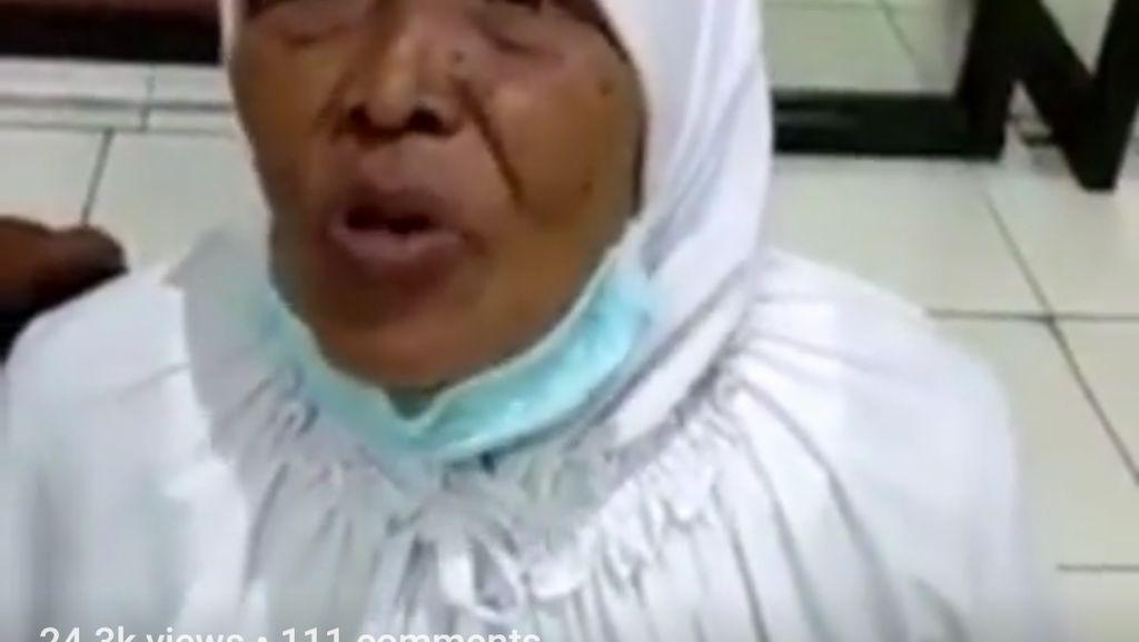 Viral Nenek Ditinggal di Terminal dan Uang Rp 7 Juta Dibawa Kabur Pembantu