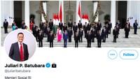 Mensos Juliari Batubara Kunci Akun Instagram dan Twitter