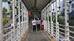 Bakal Direvitalisasi, JPO Sudirman Akan Dilengkapi Jalur Sepeda