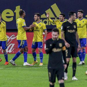 Sadis! Cadiz Sudah Kalahkan Madrid dan Barcelona