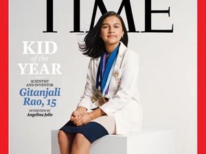 Ini Gitanjali, Ilmuwan Cilik yang Jadi Kid of The Year Pertama Versi Time